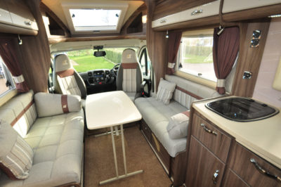 Auto-Sleeper Corinium RB Interior