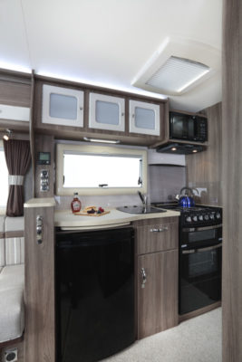Auto-Sleeper Corinium RB Kitchen