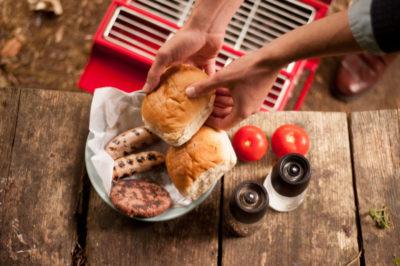 BBQ alfresco dining