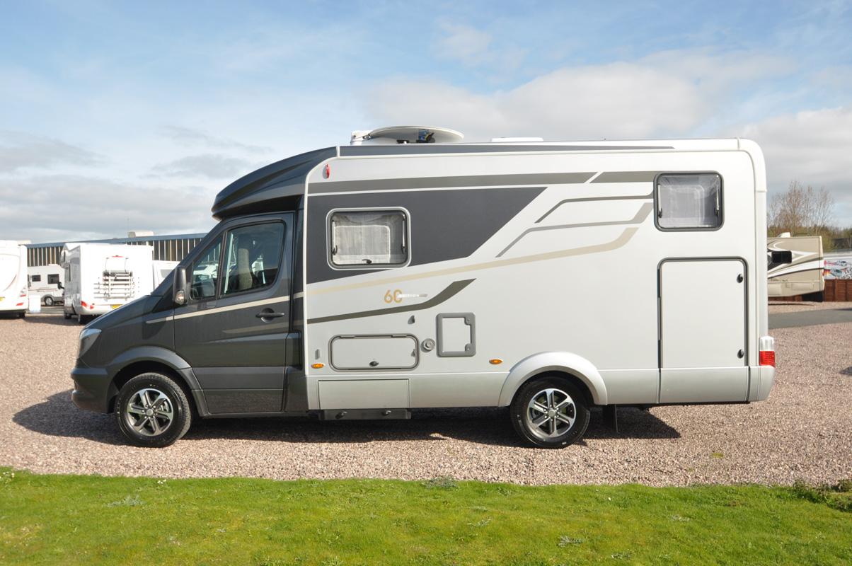 Beautiful 2017 Hymer MLT 570 60 Edition Motorhome  Caravan Guard Blog