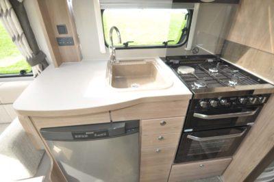 Elddis Compass Capiro 550 Kitchen