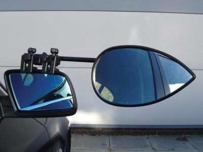 Milenco Aero 3 caravan towing mirrors