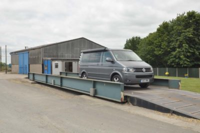 Motorhome weighbridge
