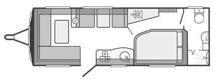 Sprite Quattro EW Floor Plan