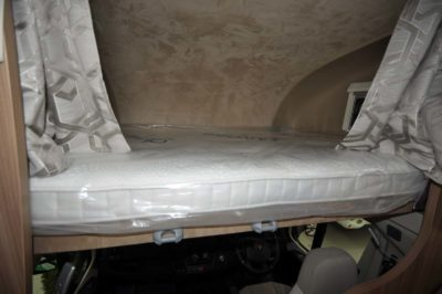 Swift Kon-Tiki 649 Overcab bed