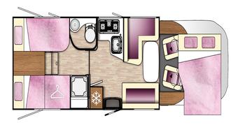 Benimar Tessoro floor plan