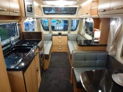 Knaus Star Class 550 Interior looking forward
