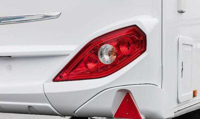 Knaus Star Class 550 rear lights