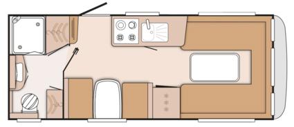 Knaus Starclass 550 floor plan