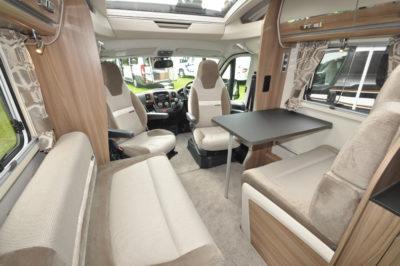 Swift Bessacarr 599 Interior Lounge Diner