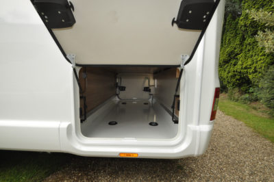 Swift Bessacarr 599 boot storage