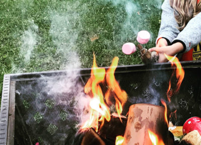 Things to do - toast marshmallows