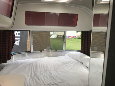 Airstream Missouri double bed