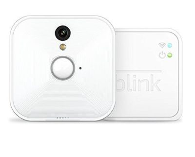Blink camera system for caravans