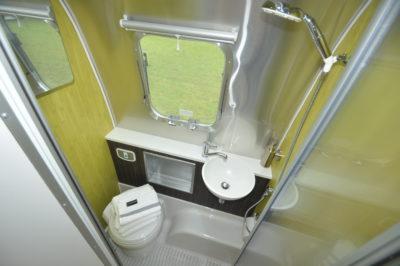 Airstream Missouri bathroom