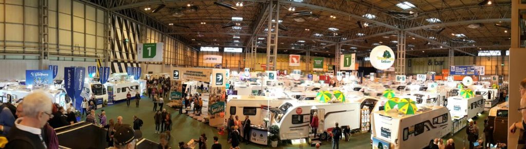 NEC Motorhome and Caravan Show