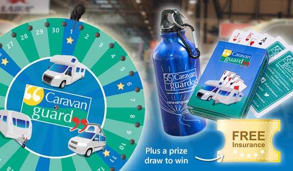 Caravan camping and motorhome show prizes