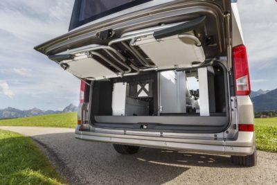 VW California XXL boot