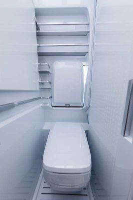 VW California XXL washroom WC