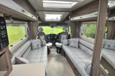 Auto Sleeper Bourton Interior