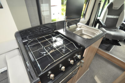 Swift Select 122 Motorhome Kitchen
