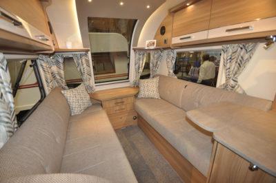 Bailey Pegasus GT70 Palermo lounge