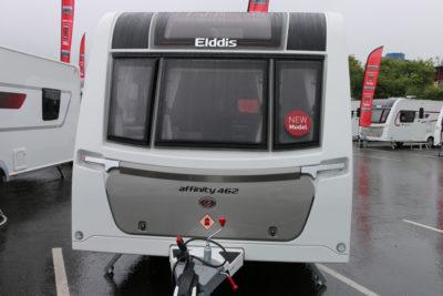 Elddis Affinity 462 exterior front