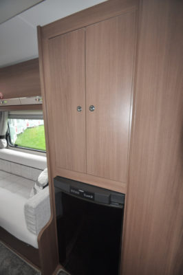 Elddis Affinity 462 fridge