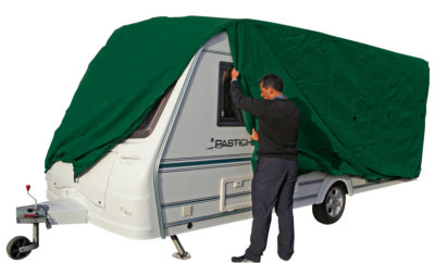 Kampa Green Caravan Cover