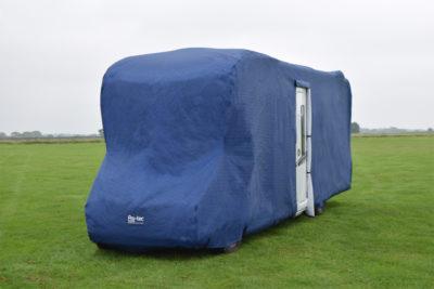 Pro-tec blue motorhome cover