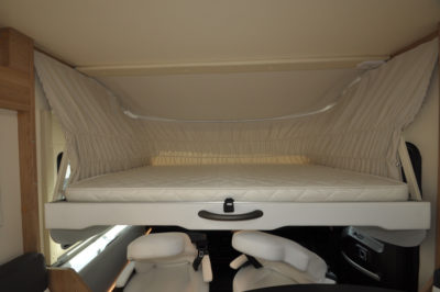 Roller Team Pegaso 740 over cab bed