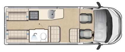Auto-Sleeper Fairford Floor Plan
