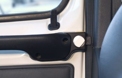 HEOSafe motorhome drivers door lock