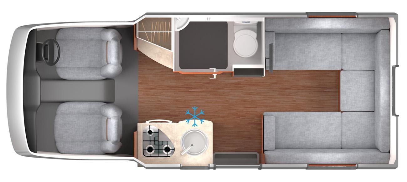 Lunar Cassini EL Floor Plan