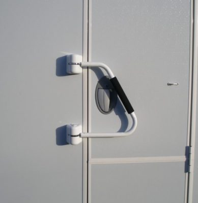 Milenco hand rail security lock