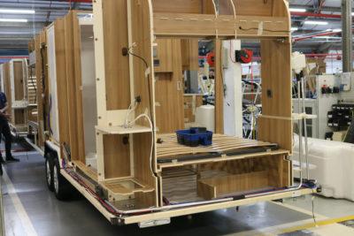 Bailey caravans construction inside out