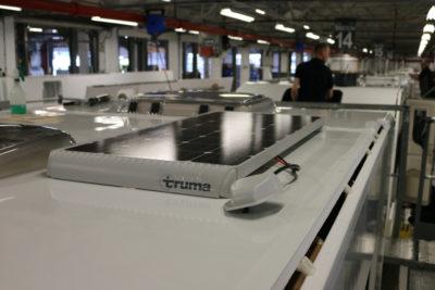 Bailey caravans fit Truma solar panel