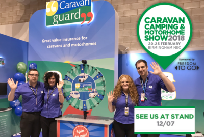 Caravan, Camping and Motorhome Show 2018