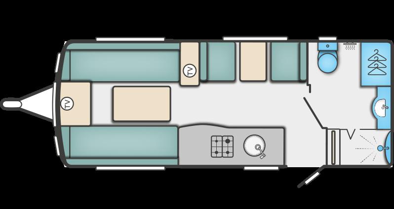 Swift Elegance 530 floor plan