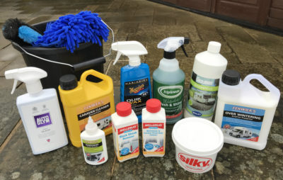 Caravan cleaning products