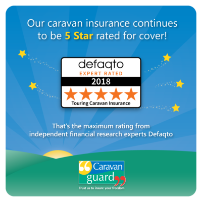 Defaqto five star for Caravan Guard
