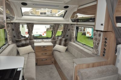 Swift Elegance 530 Interior looking forward