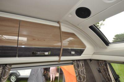 Swift Elegance 530 Overhead storage
