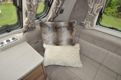 Swift Elegance 530 lounge upholstery