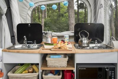 Opus Air cooking