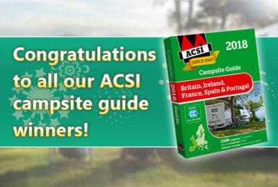 ACSI Campsite Guide winners thumbnail