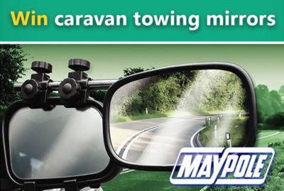 Win a pair of Maypole caravan towing mirrors thumbnail