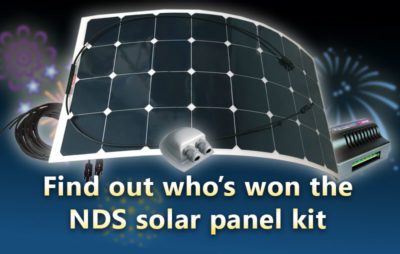 Caravanner wins a solar panel from RoadPro thumbnail
