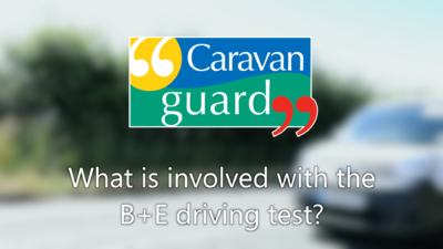 VIDEO:What's involved in the B+E test for caravannners? thumbnail
