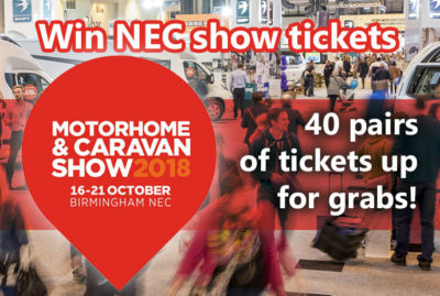 Win tickets to the Motorhome and Caravan Show 2018 thumbnail